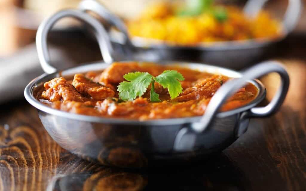 Served Low Carb Butter Chicken Recipe