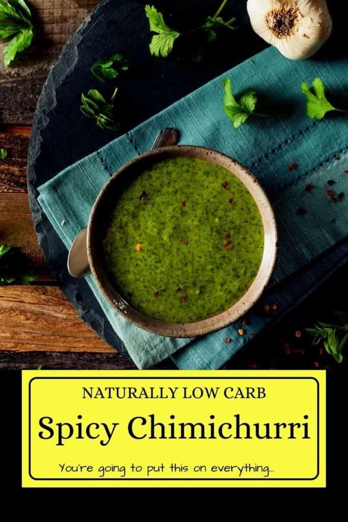 Low Carb Chimichurri Sauce Recipe Pins (5)