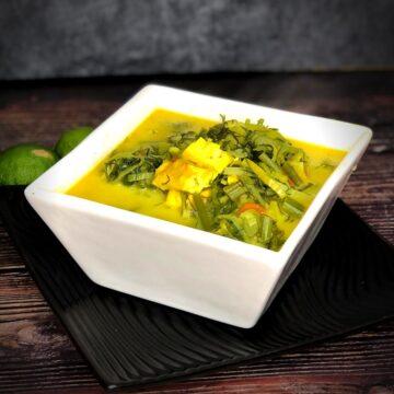 Low Carb Coconut Leek Soup FI