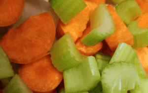 Carrot and celery