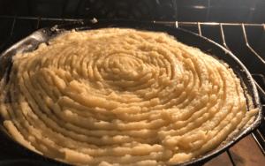 Baking low carb cottage pie