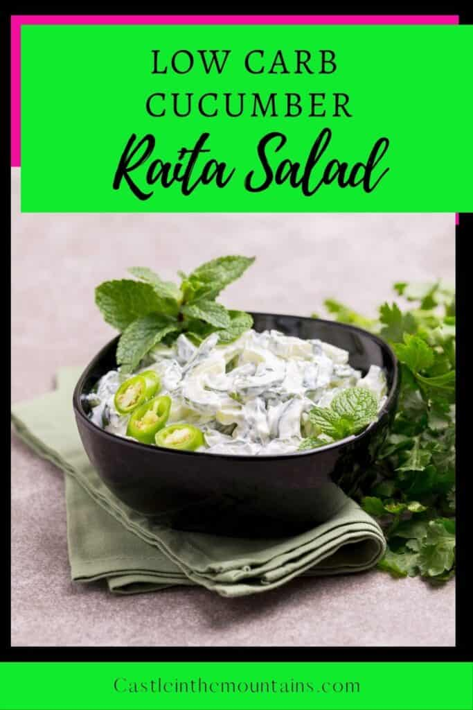 Low Carb Cucumber Raita Pins (1)