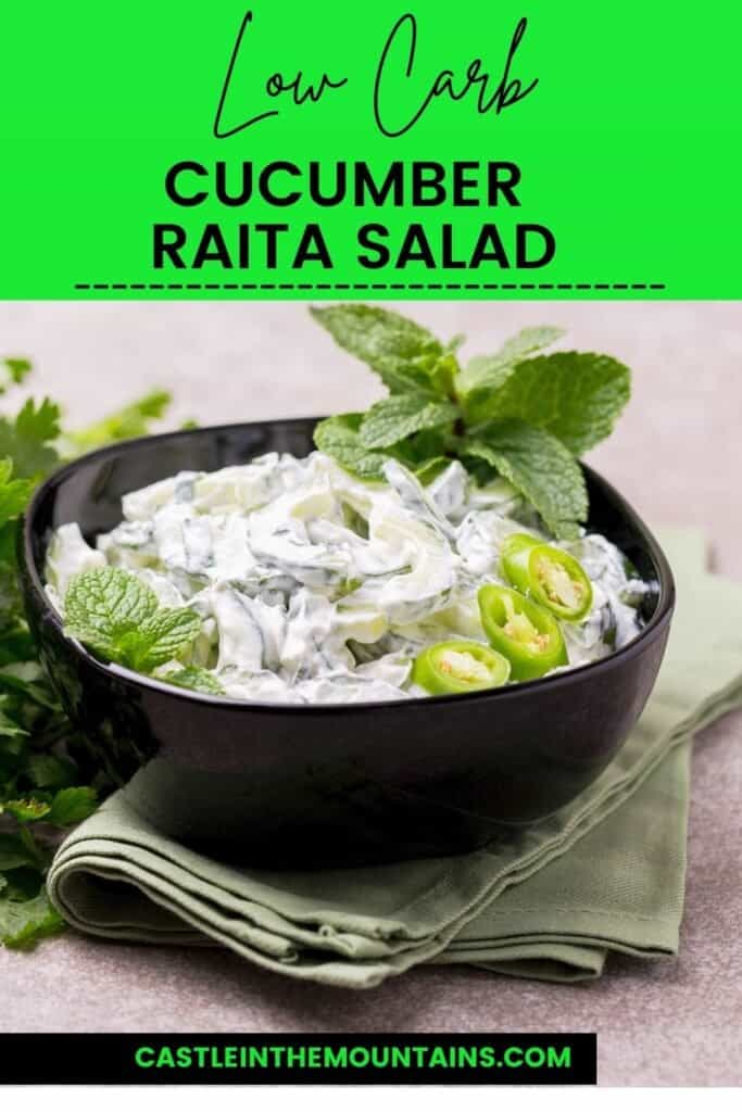 Low Carb Cucumber Raita Pins (2)