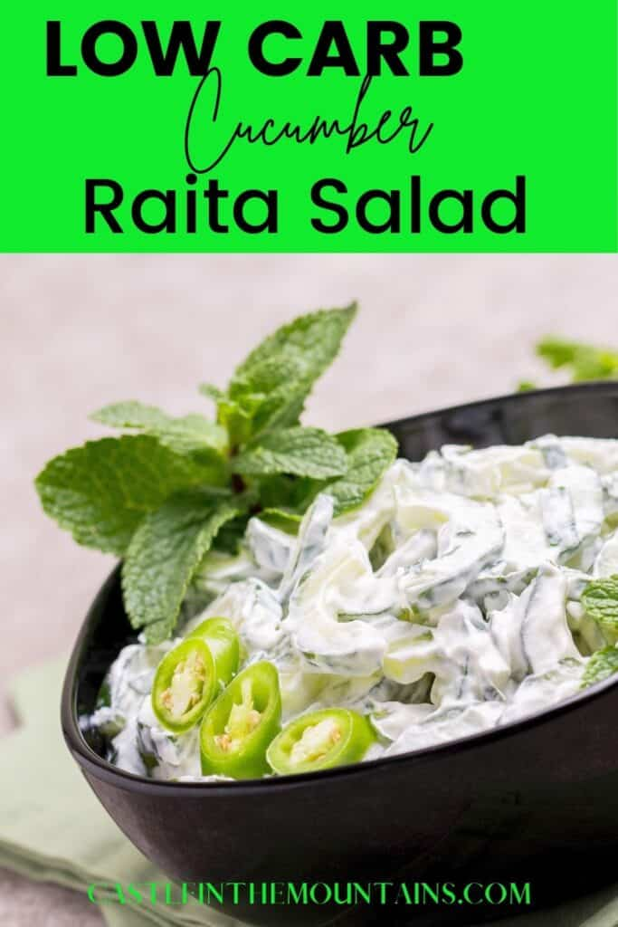 Low Carb Cucumber Raita Pins (3)