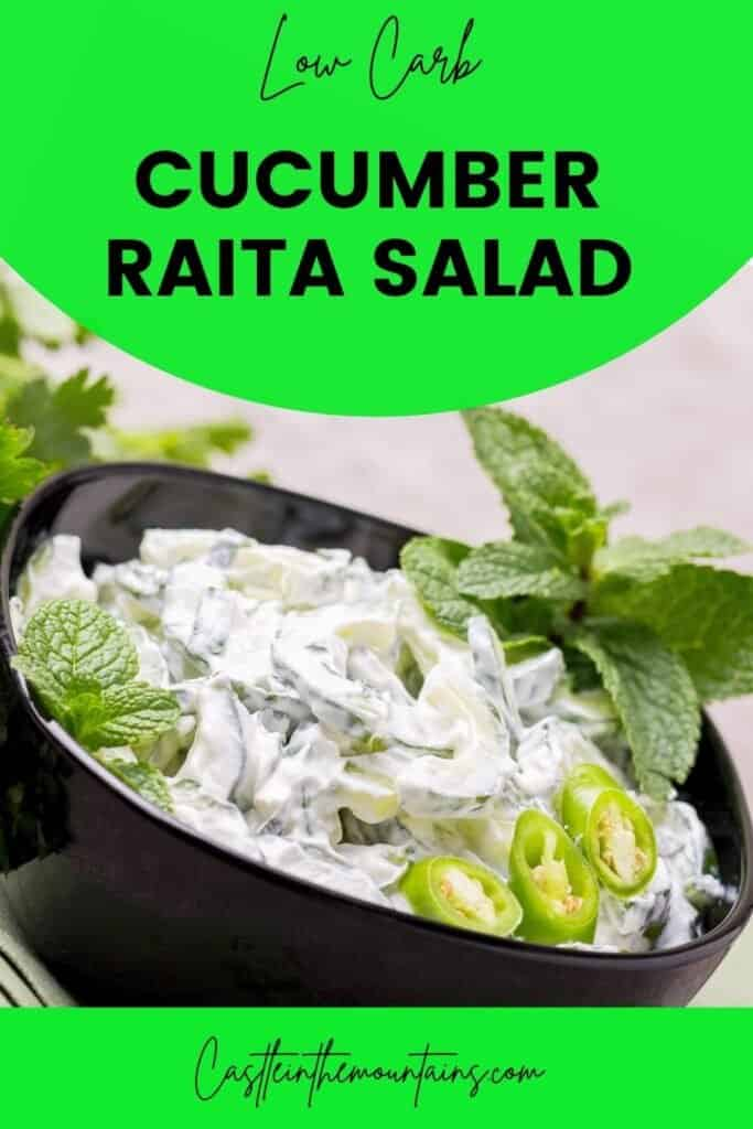 Low Carb Cucumber Raita Pins (4)