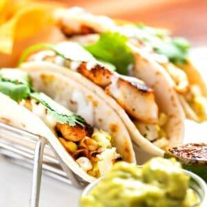 Low Carb Fish tacos FI