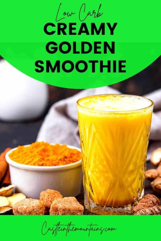 Low Carb Golden Smoothie Pins (4)