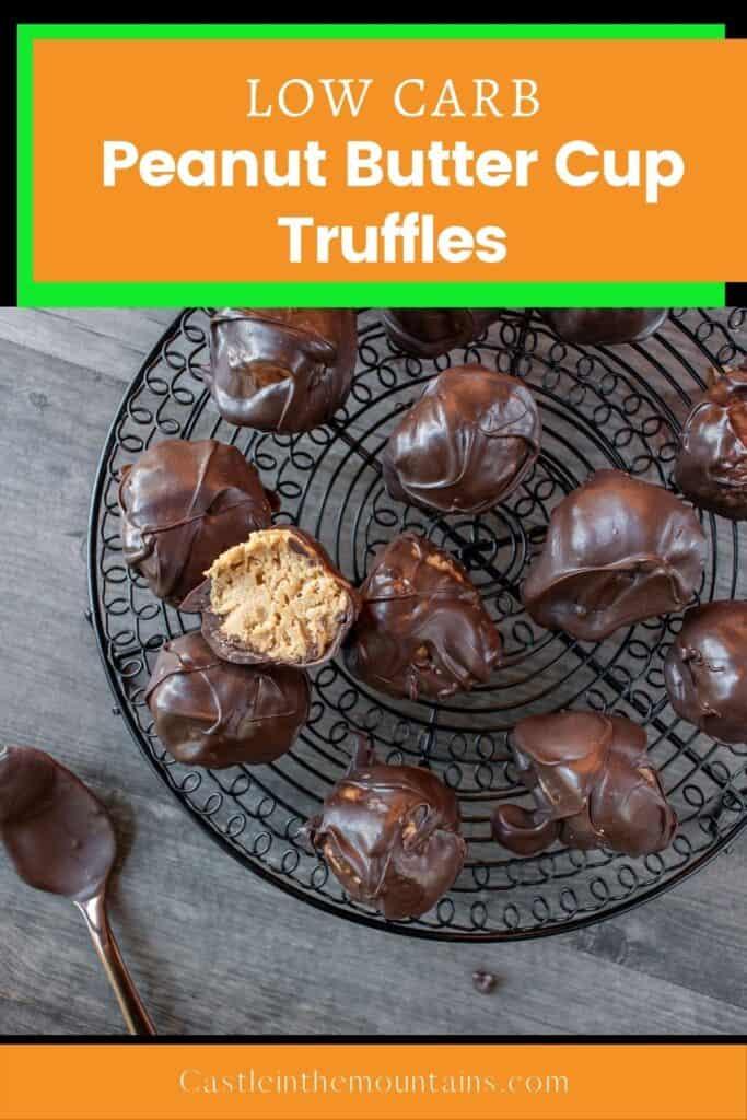 Low Carb Peanut Butter Truffles Pins (1)