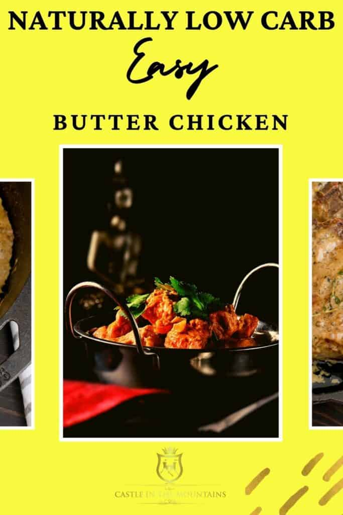 Low carb butter chicken pins (3)