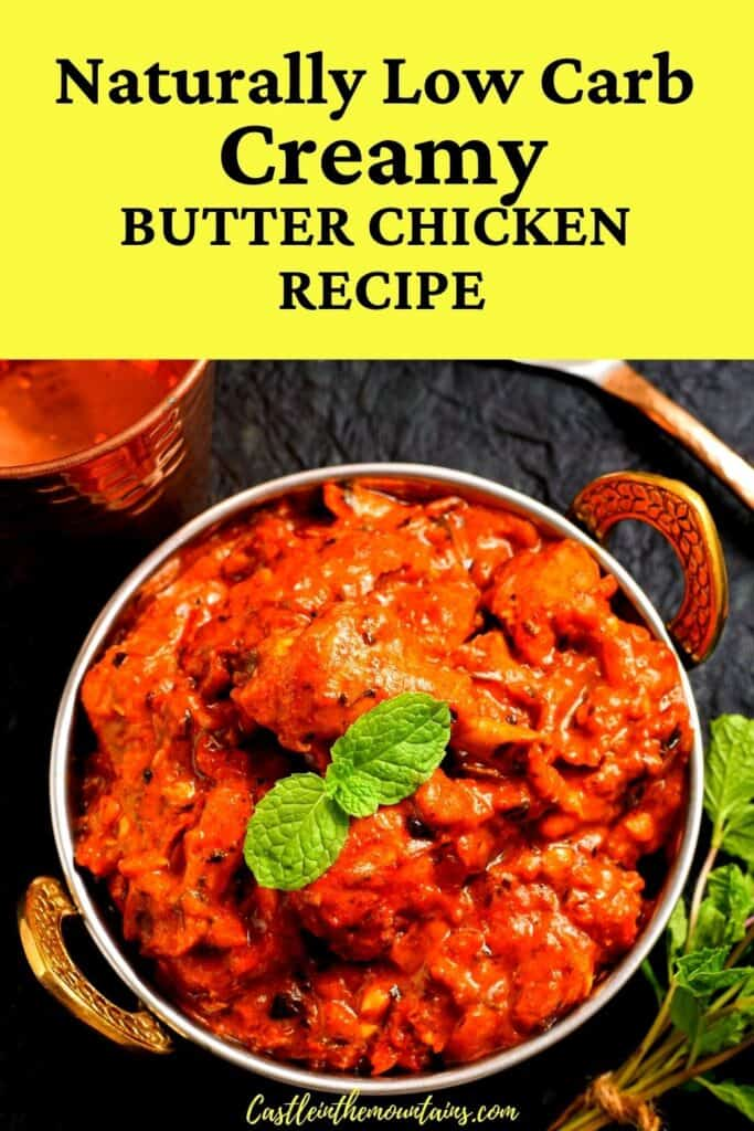 Low carb butter chicken pins (5)