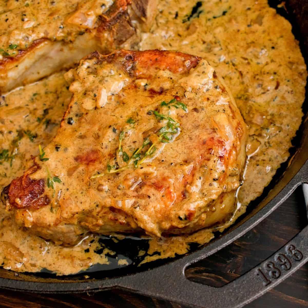 Portuguese Pork Chops FI