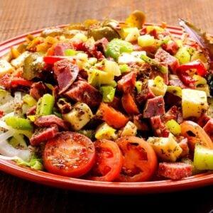 Low Carb Antipasto Salad FI