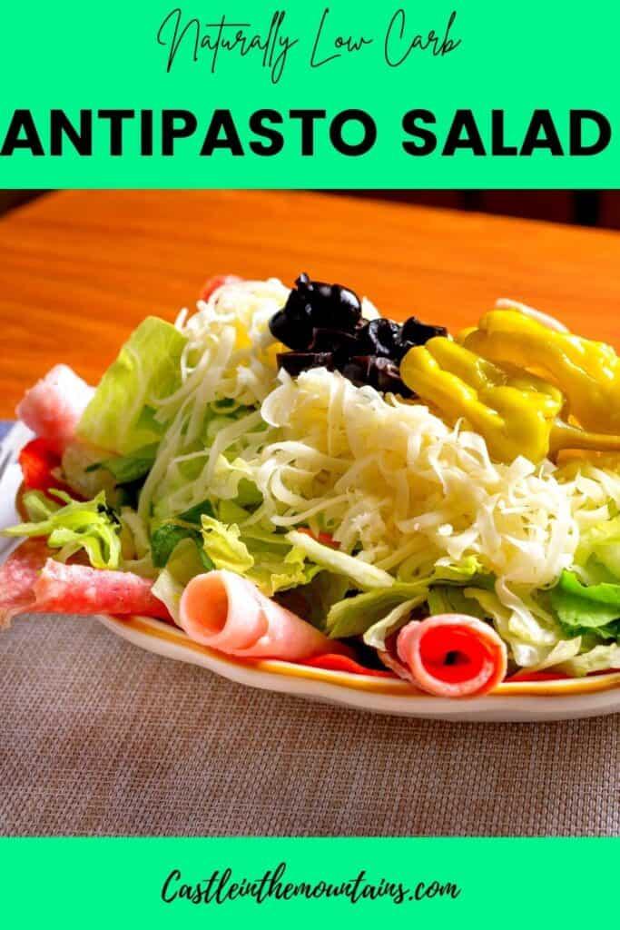 Low Carb Antipasto Salad Pin (3)