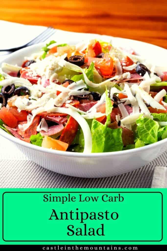 Low Carb Antipasto Salad Pin (5)