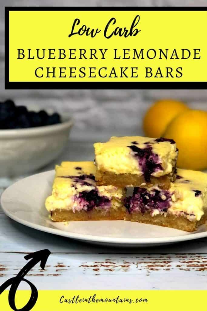 Low Carb Blueberry Lemon Cheesecake Bars Pins (2)