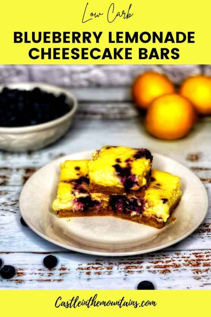 Low Carb Blueberry Lemon Cheesecake Bars Pins (3)