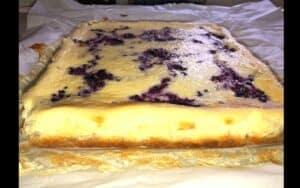 Chilled Cheesecake bars