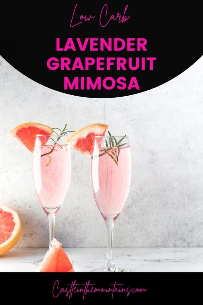 Low Carb Lavender Grapefruit Mimosa (4)