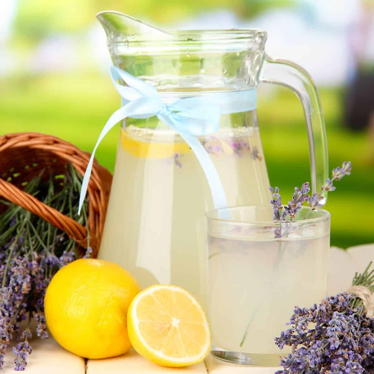 Low Carb Lavender Lemonade FI