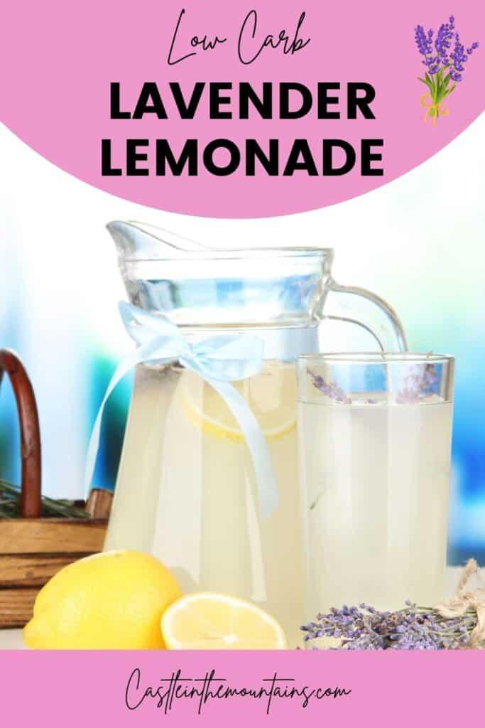 Low Carb Lavender Lemonade Pins (4)