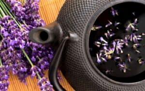 Steeping lavender