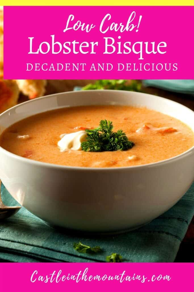 Low Carb Lobster Bisque (1)