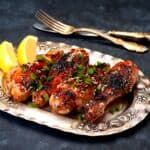 Low Carb Sticky Baked Chicken FI