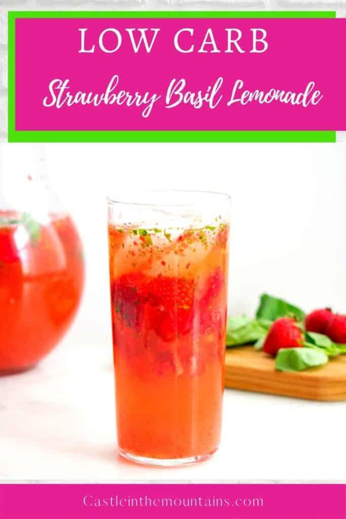 Low Carb Strawberry Basil Lemonade Pins (1)