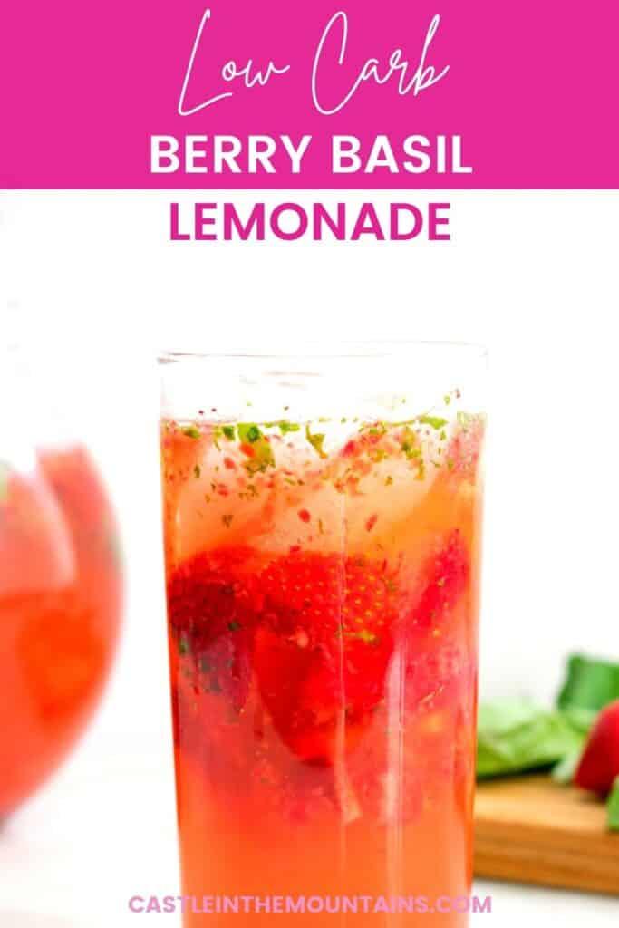 Low Carb Strawberry Basil Lemonade Pins (2)