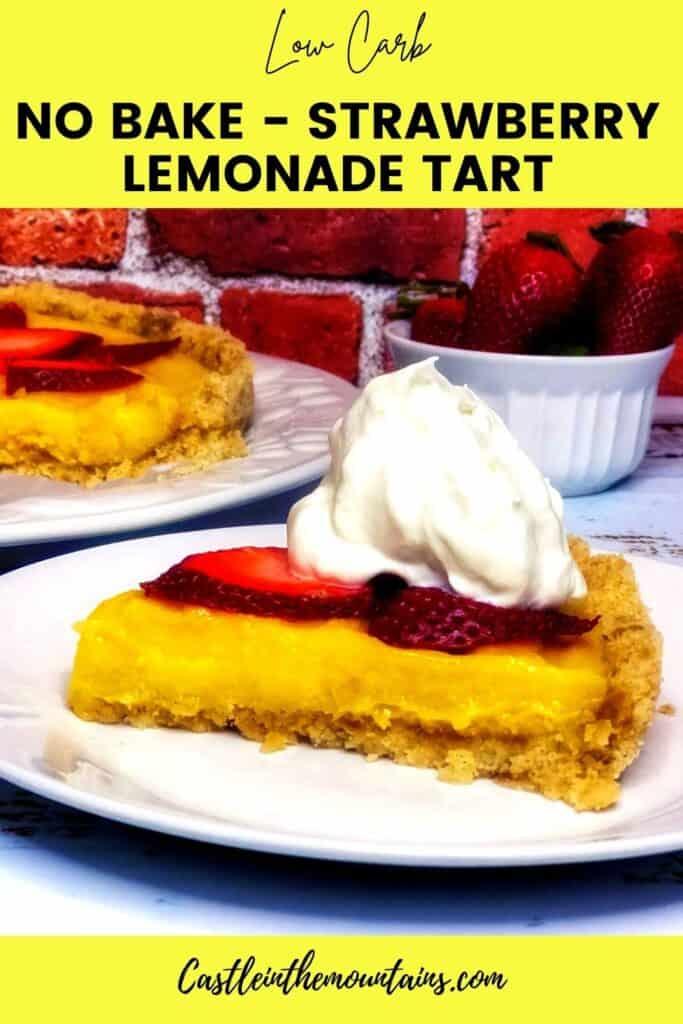 Low Carb Strawberry Lemonade tart Pins (3)