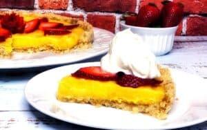 Served Low Carb Strawberry Lemonade tart Post(1)