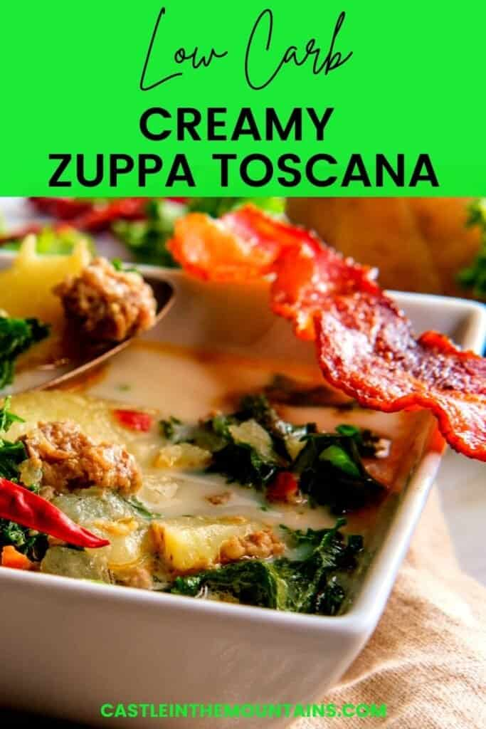 Low Carb Zuppa Toscana Pins (2)