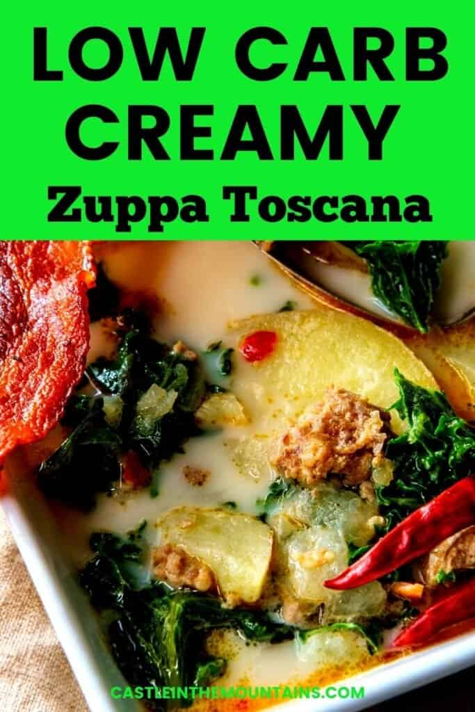 Low Carb Zuppa Toscana Pins (5)