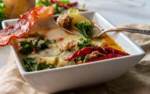 served Low Carb Zuppa Toscana Post (2)