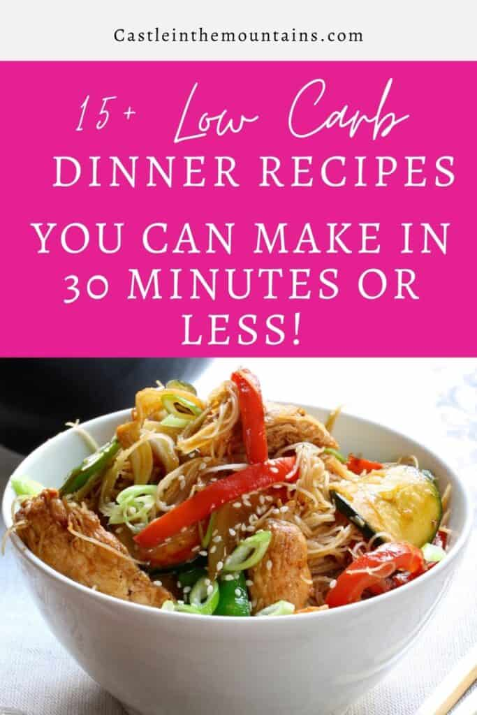 30 Minute Low Carb Dinner Pins (2)