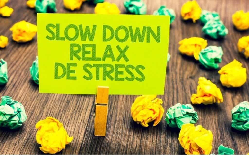 Good Gut Bacteria live better when you reduce stress