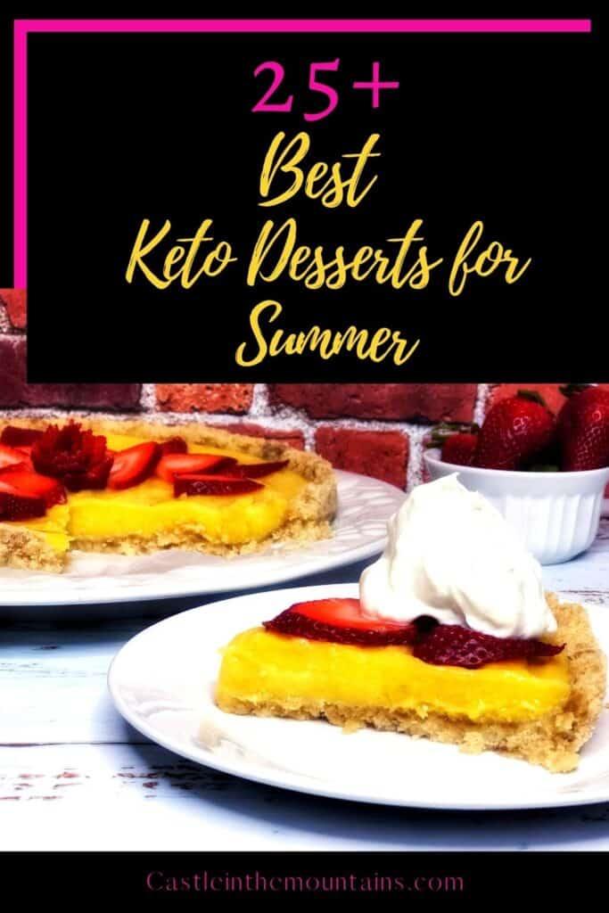 Best Keto Summer Desserts Pins (1)