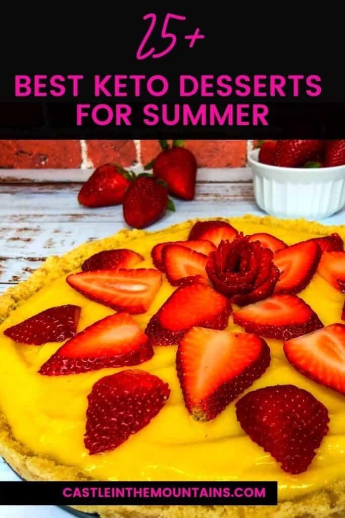 Best Keto Summer Desserts Pins (2)