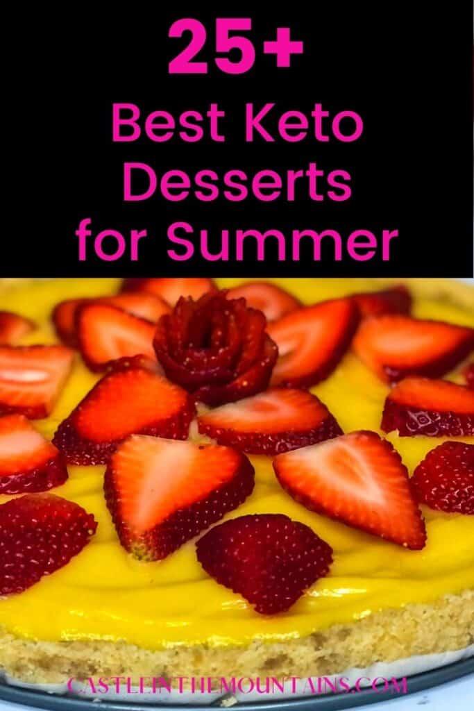 Best Keto Summer Desserts Pins (3)
