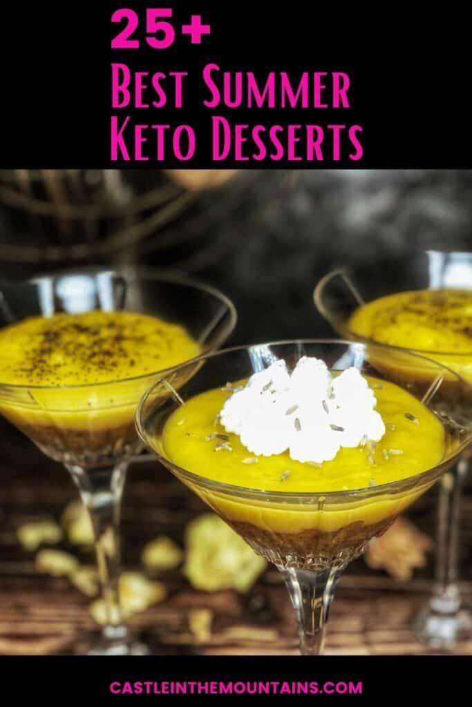 Best Keto Summer Desserts Pins (5)