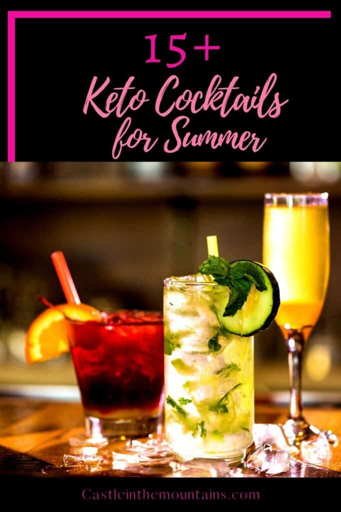 Keto Cocktails for Summer Pins (1)