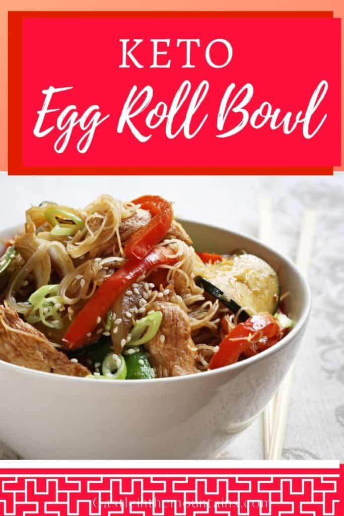 Keto Egg Roll in a Bowl Pins (1)