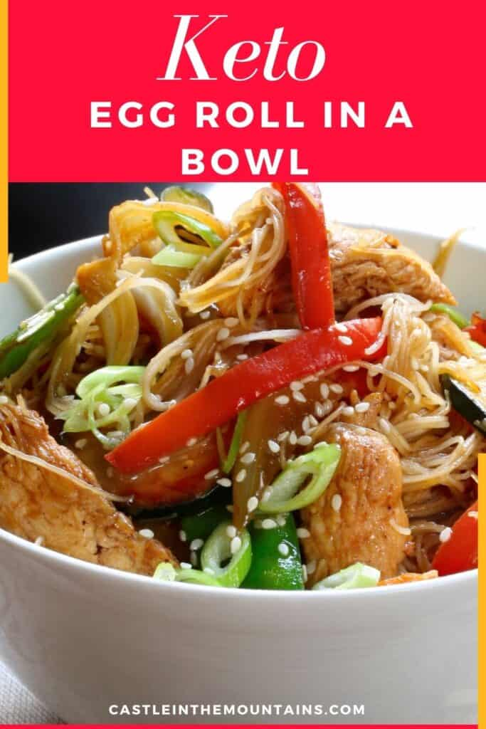 Keto Egg Roll in a Bowl Pins (2)