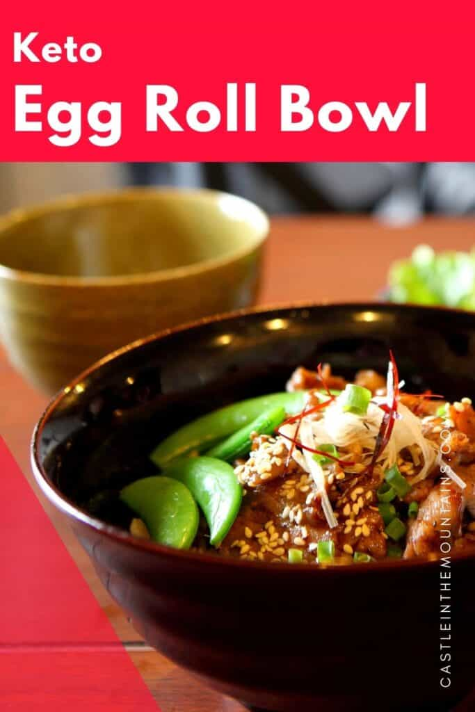 Keto Egg Roll in a Bowl Pins (3)