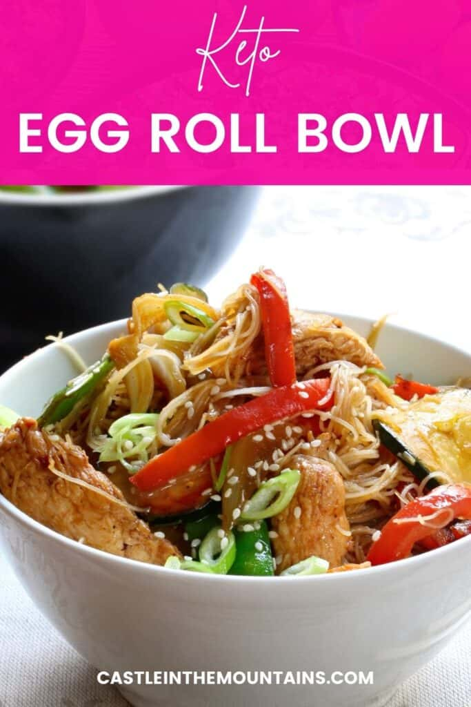 Keto Egg Roll in a Bowl Pins (4)