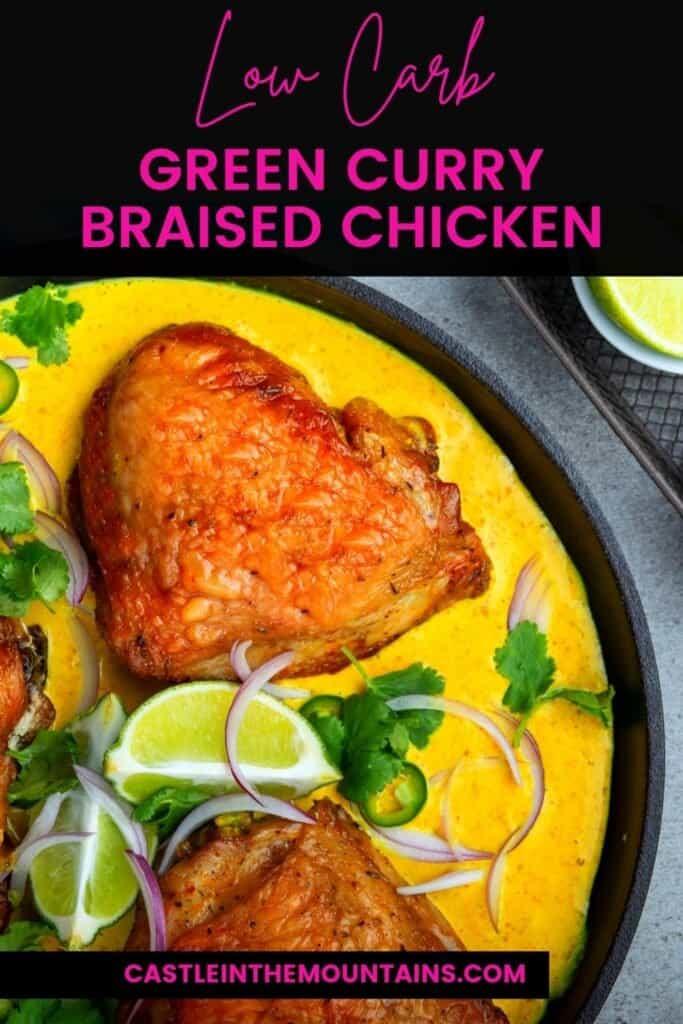 Keto Green Curry Chicken Pins (2)