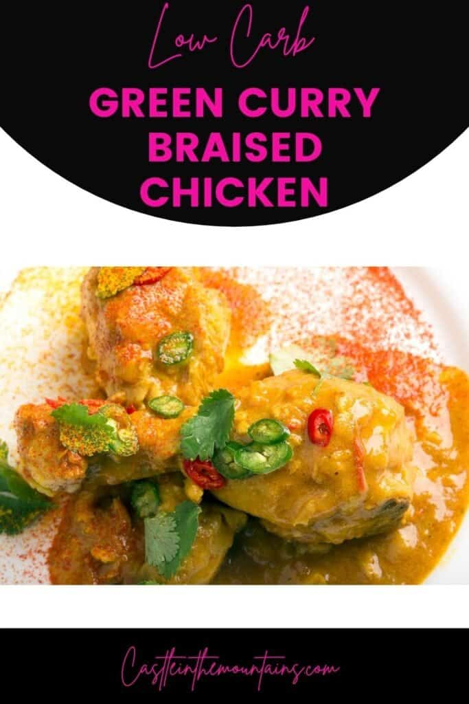 Keto Green Curry Chicken Pins (4)