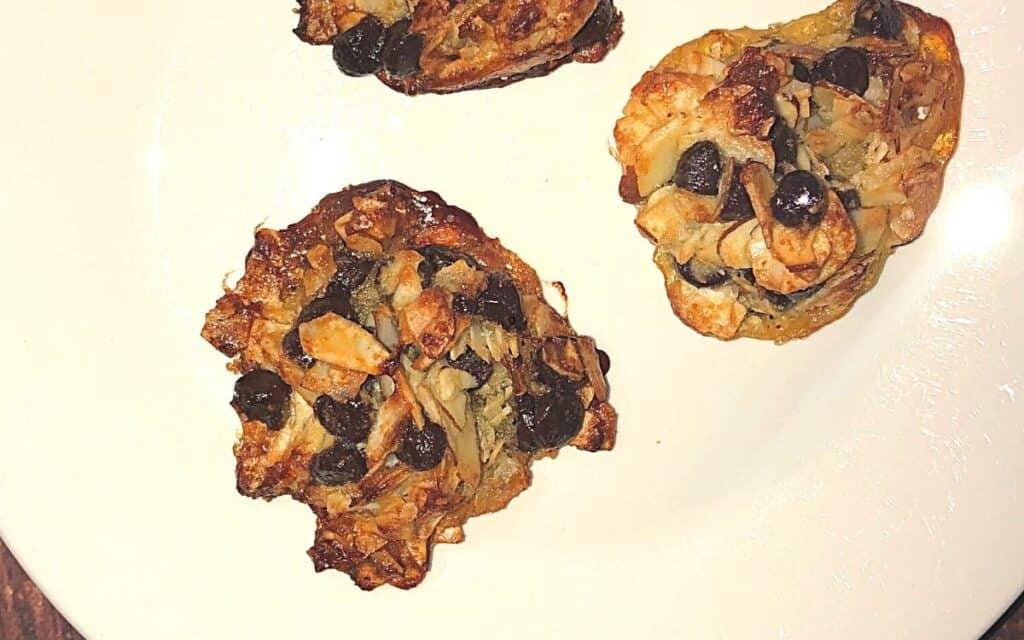 Served Keto Magic Cookies