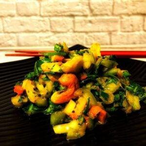 Low Carb Chopped Thai Salad FI