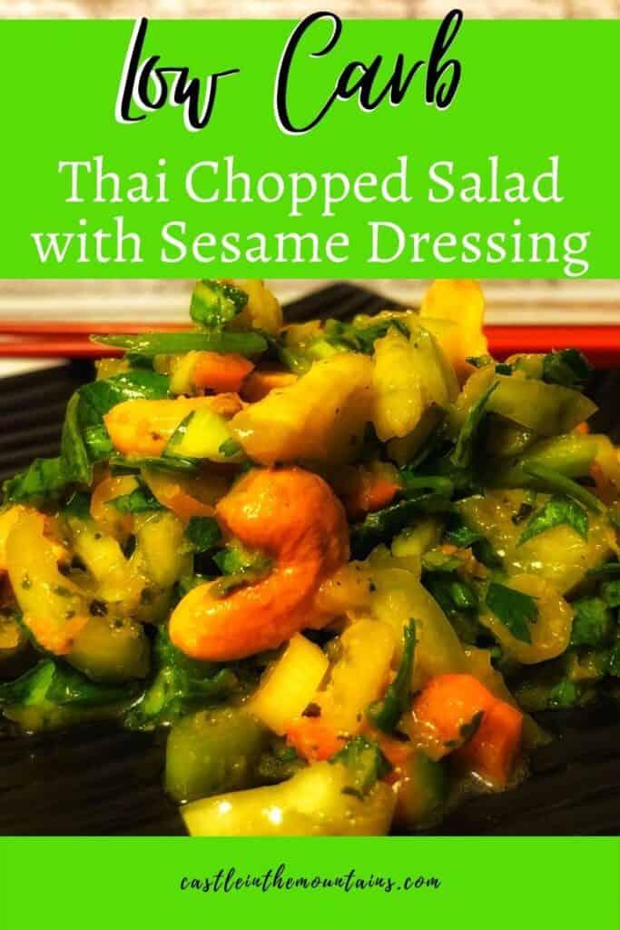 Low Carb Chopped Thai Salad Pins (3)